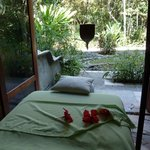 Massage room at the Raindrop Spa