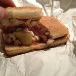 Hawaiian BBQ Sandwich