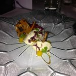 Whipped Brie with truffled honey and spiced carrot salad