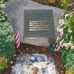 Memorial across from Nobska Lighthouse