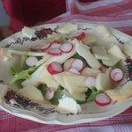 Salade de Munster aux pommes...