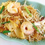 Singapore Sambal Blachan Bee Hoon (Spicy Shrimp Thin Rice Noodles)