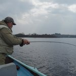Lough Corrib - into a fish!