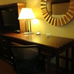 "Twelfth ""executive"" floor room desk/TV"