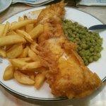 Fish & Chips taken using my phone!