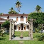 Prachtige domein met koloniaal gebouw