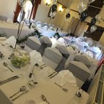 The ceremony ,dining room