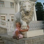 Дворцовые львы
