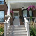 Front Door, Rose Garden B&B, Toronto
