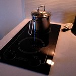 Cooktop with pot