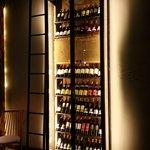 Cave à vin super originale et bien fournie!!