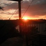 Sunset from El Mirador (the lookout)