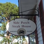 Foto de Side Porch Steak House