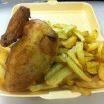 fresh cooked chicken