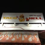 Taco Hell sign