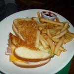 Rupert's Monte cristo sandwich