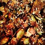 Housemade moroccan spiced granola