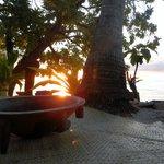 Tanoa at sunset