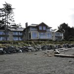 Lodge from the beach