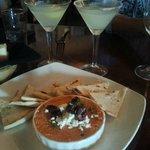 Key Lime Martinis - Red Pepper Hummas - Grilled Pita