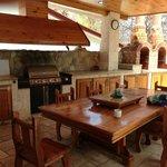 OUtdoor Kitchen at Casa Ken
