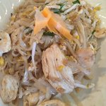 Chicken Pad Thai with Peanuts on Side