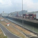 Panama Canal during excursion