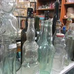 Glass bottles - dusty and cool!