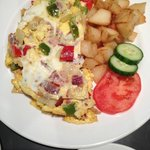 Denver omelette chock full of veggies