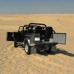 Este é o Land....com muita emoção nas dunas!!!