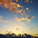 sunset from near by El Sambre in Clinton, Missouri