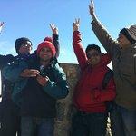 High Five on the Top of Australia - Mt Kosciuszko