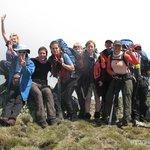 Freda da Fur Walkers on the Summit of Mt Kosciuszko