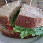 Knock Out Veggie Sandwich on Sunflower Wheat