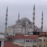 голубая мечеть- вид с террасы