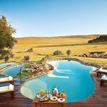 Pool overlooking the South African Bushveld