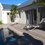 the outside area at no 41 Cabriere