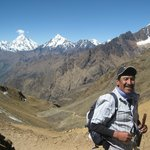 6° dia la Cordillera del Urubamba -al fondo hay sitio.