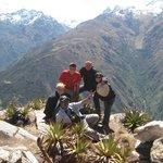 6° dia en el abra de CHOQUETACARPO. to YANAMA. La cima del mundo.