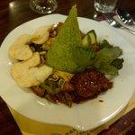 Nasi Ijo (green rice)