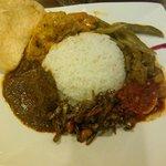 Nasi Padang (mixed Padang rice)