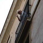 ons balkon(netje)