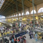 Inside Gard de Nord station