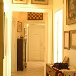 View from the entrance door