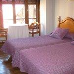 Habitacion con camas separadas