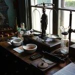 divers objets de la collection du musée