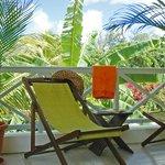 Terrasse chambre confort