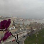 Chain Bridge & Danube view