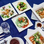 Vietnamese style platter
