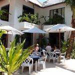 The Boracay Beach Resort breakfast area
